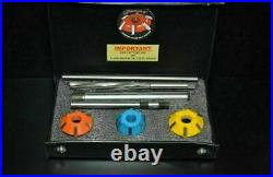 CARBIDE TIPPED VALVE SEAT TOOL/ CUTTER SET LS 2 V 8 AMERICAN MUSCLE free ship
