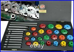 Carbide Tip Valve Seat Cutter Set 37 Pcs For Vintage Engines Professional Grade