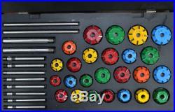 Carbide Tipped Valve Seat Cutter Set 25 Pcs For Vintage & Modern Best Quality