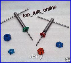 Carbide Tipped Valve Seat Cutter Set For Honda Crf 250 R 2009 And Later Models