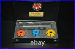 Carbide Tipped Valve Seat Cutter Set Ford Series Engines