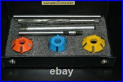 Carbide Tipped Valve Seat Tool/ Cutter Set Ls 2 V 8 American Muscle