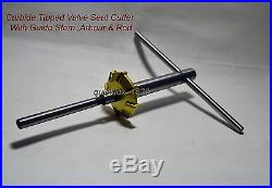 Ford, Chevy, Chrysler, GMC 3 Angle Cut Valve Seat Cutter Set Carbide Tipped