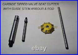 HONDA D-16 VALVE SEAT CUTTER KIT CARBIDE 3 ANGLE CUT 30 + 45 + 60 Degrees