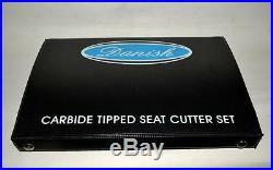 HONDA GX 390 Go Kart Heads Valve Seat Cutter Kit 3 Angle Cut 30-45-70 Degree