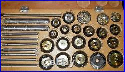 HSS 17pc Valve Seat & Face Cutter Set With Box Best Quality In India HDHQ