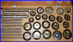 High Quality12 pcs Valve Seat & Face Cutter Set For Car Jeep Truck Motorcycles