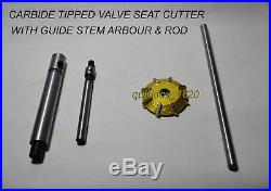 Honda CRF 450R 2002-08-250R 2004-09 Valve Seat Cutter Kit Carbide Tipped 3 AC