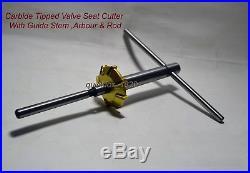 Honda CRF 450 R 2002-08-250 R 2004-09 Valve Seat Cutter Kit Carbide Tipped 3angl