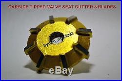 Honda Crf 250 R 2009 & Later Models Carbide Tipped Valve Seat Cutter Set