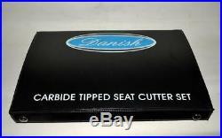 Kawasaki Kx 250f 2011-2012 Bike Valve Seat Cutter Kit Carbide Tipped 3 Angle Ct