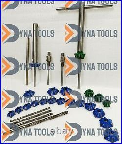 Ktm, Honda, Kawasaki, Suzuki Japan Bikes Valve Re Seating Tool Kit Carbide Heads