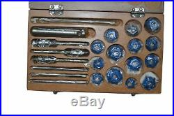 Motorcycles Atv Heads Valve Seat Cutter Set Carbide Tipped + Reams + Guide Stems