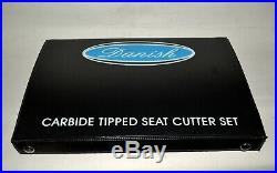 Motorcycles Valve Seat Cutter Set Kawasaki, Honda, Yamaha Carbide Tipped