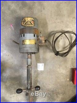 NEWAY Valve Seat Cutter Power Head Unit Motor Drive from Engine Machine Shop