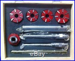 New Carbide Valve Seat Cutter 5 Cutter Set For Vintage Car & Bikes 20 & 45 Deg
