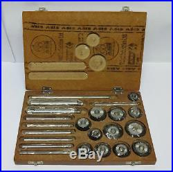 New Valve Seat Cutter Set 12 Pieces Kit With Box @GT