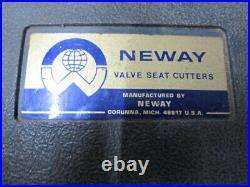 Neway 102 Valve Seat Cutter Kit 31 & 46 Degrees JS-4