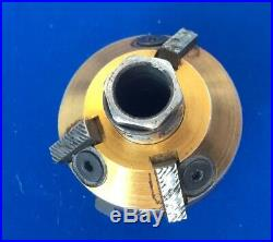 Neway 208 Valve Seat Cutter 1 1/2in 38mm 31x 46 deg Double Sided 3 Carbide Blade