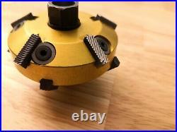 Neway 2 Valve Seat Cutter 50.8mm 30x45 degrees top Pilots. 375 5/5 blade cu660