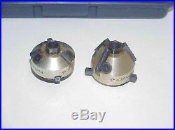 Neway Valve Seat 2 Cutter Set in Case Pilots 11/32, 8mm, 5/16, 9/32, 1/4