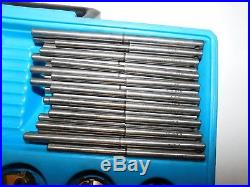 Neway Valve Seat Cutter Set with 9 Heads 30 Pilot Rod Set with Case USA NICE