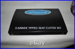 Norton Commando Combat 850 Valve Seat Cutter Set Carbide Tipped 3 Angle Cut
