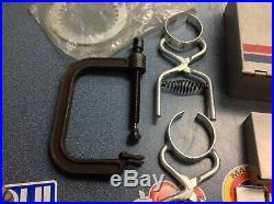 OEM Yamaha Special Tools and Tool Boxes- Valve Seat Cutter, Valve Spring Comp