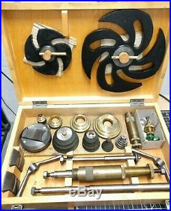 OKO Steam Locomotive Ship Pipefitter Universal Valve Seat Cutter Kit 5/8-3-1/2
