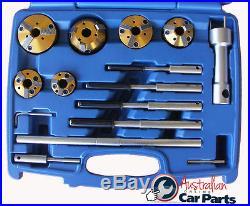 PRECISION VALVE SEAT CUTTERS 14pc SET TUNGSTEN CARBIDE T&E Tools 6257
