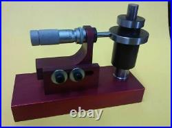 Set up fixture for counterbore valve seat pocket cutter heads. 375 PILOT