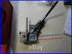 Sioux Valve Seat Cutter In Case FOR PARTS OR REPAIR with Accessories