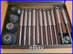 Sioux Valve Seat Cutting / Bowl Hog Kit with (8 Cutters and 10 Pilots)