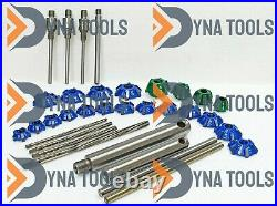 Small Gas Engine Heads Valve Seat Cutter Kit Carbide Tipped 34 Pcs All In One