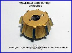 TRIUMPH BONNEVILLE 1974 3 Angle cut VALVE SEAT RESTORATION KIT CARBIDE TIPPED
