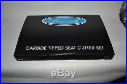 Toyota Land Cruiser 1990 Valve seat Cutter Set Carbide Tipped 3 Angle Cut