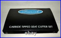 Triumph T 160 Valve seat Cutter Set Carbide Tipped 3 Angle Cut 30-45-60 Degree