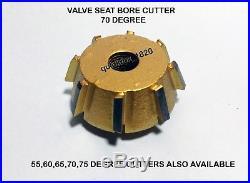 VALVE SEAT CUTTER KIT CARBIDE TIPPED For HONDA, YAMAHA, KAWASAKI, KTM, SUZUKI etc