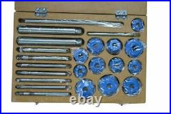 Valve SEAT Cutter Set 24 PCS Carbide Tipped Chevy Ford Cleveland GMC Free Ship