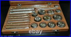 Valve Seat Cutter Kit 23 Pcs High Carbon Steel Cutter For Vintage Block Heads Hq
