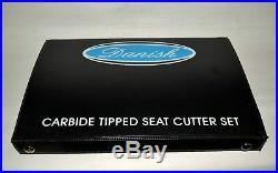 Valve Seat Cutter Kit Carbide Tipped To Cut Satellite Modern Bikes Hard Seat