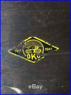 Valve Seat Cutter Set 16 piece Vintage OKO Otto Klein Porsche ETC German Made