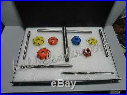 Valve Seat Cutter Set Carbide For Chevy