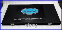 Valve Seat Cutter Set Carbide Tipped 37 For Chevy, Ford. Gmc, Chrysler, Dogde