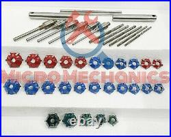 Valve Seat Cutter Set Carbide Tipped 3 Angle Restoration Kit 20° 30° 45°