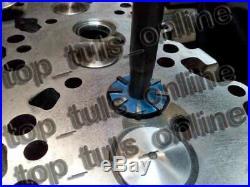 Valve Seat Cutter Set Carbide Tipped 40 For Chevy, Ford. Gmc, Caterpillar, Komtsu