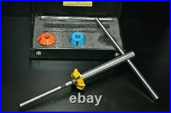Valve Seat Cutter Set Carbide Tipped 46 MM 38 MM 45 Deg 41 MM 70 Deg Stm+remr