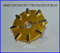 Valve Seat Cutter carbide tipped 31 mm 36 mm 45 degree +5 5.5 guide stem & T H