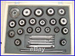 Valve Seat Cutter set quality hardened steel 20 cutters in 45dec 30 dec 20dec