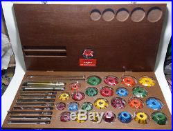 Valve Seat Cutters Carbide Tipped Fast & Economical Valve Seat Restoration Sys